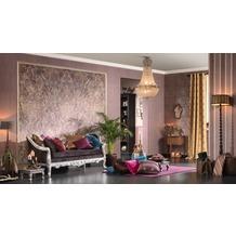 AS Création Bohemian Mustertapete, Tapete, glänzend, Vintage-Look, klassisch, braun, metallic, rot 10,05 m x 0,53 m
