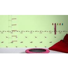 AS Création Bordüre Little Stars Borte PVC-frei bunt grün 5,00 m x 0,13 m