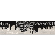 "AS Création Boys & Girls 4 Bordüre ""New York City"" 5 m x 0,13 m"