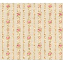 AS Création florale Mustertapete April Vliestapete bunt metallic 10,05 m x 1,06 m