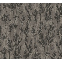 AS Création florale Mustertapete Borneo Tapete braun schwarz 327171 10,05 m x 0,53 m