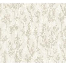 AS Création florale Mustertapete Borneo Tapete creme grau 327172 10,05 m x 0,53 m