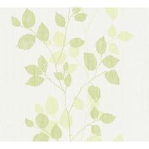 AS Création florale Mustertapete Happy Spring Vliestapete grün weiß 347613 10,05 m x 0,53 m