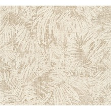 AS Création florale Mustertapete in Vintage Optik Borneo Tapete beige creme metallic 322632 10,05 m x 0,53 m