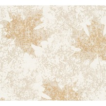 AS Création florale Mustertapete in Vintage Optik Borneo Tapete beige creme metallic 322644 10,05 m x 0,53 m