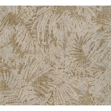 AS Création florale Mustertapete in Vintage Optik Borneo Tapete braun metallic 322633 10,05 m x 0,53 m