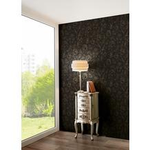 AS Création florale Mustertapete Memory 3 Vliestapete metallic schwarz 10,05 m x 0,53 m