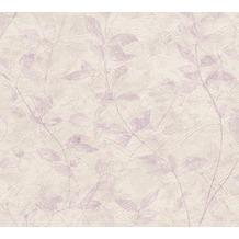 AS Création florale Mustertapete New Look Papiertapete lila 324473 10,05 m x 0,53 m