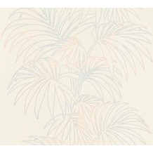 AS Création florale Mustertapete Reflection Vliestapete Tapete bunt metallic weiß 319984 10,05 m x 0,53 m