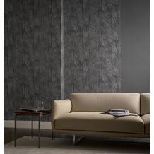 AS Création florale Mustertapete Secret Garden Tapete grau metallic schwarz 10,05 m x 0,53 m