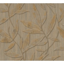 AS Création florale Mustertapete Siena Tapete braun metallic 328805 10,05 m x 0,53 m