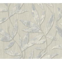 AS Création florale Mustertapete Siena Tapete grau metallic 328803 10,05 m x 0,53 m