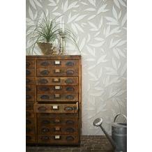 AS Création florale Mustertapete Siena Tapete grau metallic 10,05 m x 0,53 m