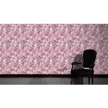 AS Création florale Mustertapete Urban Flowers Tapete lila 10,05 m x 0,53 m