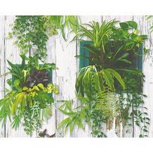 AS Création fotorealistische Mustertapete Authentic Walls Papiertapete bunt 304131 10,05 m x 0,53 m