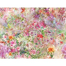 AS Création Fototapete Flower Power 130 g Vlies bunt 403709 3,36 m x 2,60 m