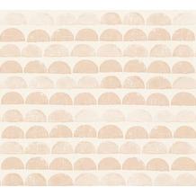 AS Création grafische Mustertapete Ökotapete Scandinavian Style beige creme 342441 10,05 m x 0,53 m