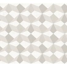 AS Création grafische Mustertapete Ökotapete Scandinavian Style beige grau metallic 341331 10,05 m x 0,53 m