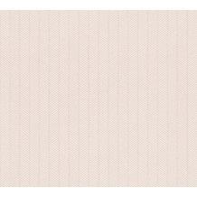 AS Création grafische Mustertapete Ökotapete Scandinavian Style beige metallic weiß 341343 10,05 m x 0,53 m