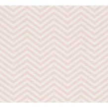 AS Création Grafische Mustertapete Ökotapete Scandinavian Style Metallic  Rosa Weiß 10 ...