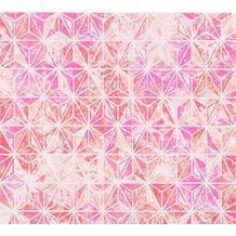 AS Création grafische Mustertapete Vision Vliestapete orange rosa rot 307057 10,05 m x 0,53 m