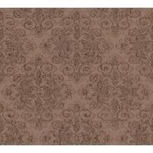 AS Création klassische Mustertapete mit Glitter Midlands Vliestapete braun metallic 319903 10,05 m x 0,53 m