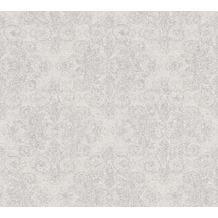AS Création klassische Mustertapete mit Glitter Midlands Vliestapete grau metallic 319901 10,05 m x 0,53 m