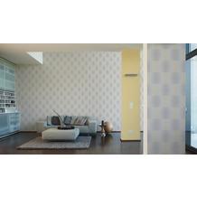 AS Création Muster-, Strukturtapete Cocoon, Vliestapete, gelb, grau