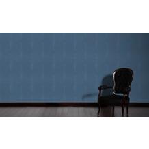 AS Création Muster-, Strukturtapete Soraya Tapete blau 10,05 m x 0,53 m