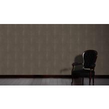 AS Création Muster-, Strukturtapete Soraya Tapete braun schwarz 10,05 m x 0,53 m