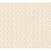 AS Création Mustertapete April Vliestapete beige creme metallic 10,05 m x 1,06 m