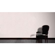 AS Création Mustertapete April Vliestapete metallic lila 10,05 m x 1,06 m