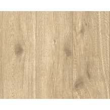 AS Création Mustertapete Best of Wood`n Stone, Vliestapete, beige, braun 300434 10,05 m x 0,53 m