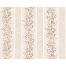 AS Création Mustertapete Concerto 2, Tapete, braun, creme, weiss 959292 10,05 m x 0,53 m