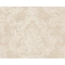 AS Création Mustertapete Elegance 3, Vliestapete, beige, creme 305181 10,05 m x 0,53 m