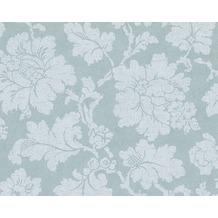 AS Création Mustertapete Elegance 3, Vliestapete, grün, weiß 305193 10,05 m x 0,53 m