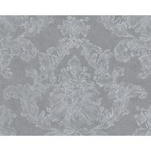 AS Création Mustertapete Elegance 3, Vliestapete, grau, weiß 305184 10,05 m x 0,53 m