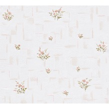 AS Création Mustertapete Essentials Papiertapete Tapete braun weiß 10,05 m x 0,53 m