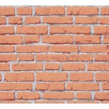 AS Création Mustertapete Essentials Tapete braun grau 10,05 m x 0,53 m