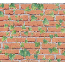 AS Création Mustertapete Essentials Tapete braun grau grün 319422 10,05 m x 0,53 m