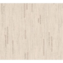 AS Création Mustertapete Essentials Vliestapete Tapete beige braun metallic 318505 10,05 m x 0,53 m