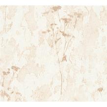 AS Création Mustertapete Free Nature Vliestapete beige braun creme 343983 10,05 m x 0,53 m