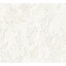 AS Création Mustertapete Free Nature Vliestapete grau weiß 343972 10,05 m x 0,53 m