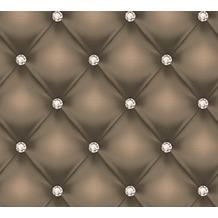AS Création Mustertapete Hermitage 10 braun creme metallic 341442 10,05 m x 0,53 m