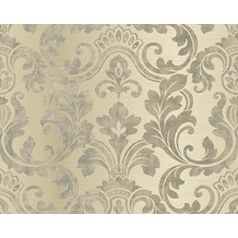 AS Création Mustertapete Hollywood, Tapete, beige, creme, metallic 10,05 m x 0,53 m