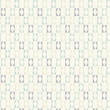 AS Création Mustertapete im skandinavischen Stil Björn Vliestapete blau grau weiß 351181
