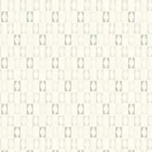 AS Création Mustertapete im skandinavischen Stil Björn Vliestapete grau orange weiß 351182 10,05 m x 0,53 m