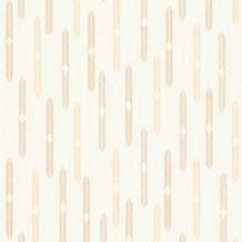 AS Création Mustertapete im skandinavischen Stil Björn Vliestapete grau orange weiß 351191 10,05 m x 0,53 m