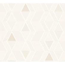 AS Création Mustertapete im skandinavischen Stil Happy Spring Vliestapete beige creme 343023 10,05 m x 0,53 m