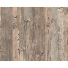 AS Création Mustertapete in Vintage-Holzoptik Decoworld, Tapete, beige, seidengrau 954053 10,05 m x 0,53 m